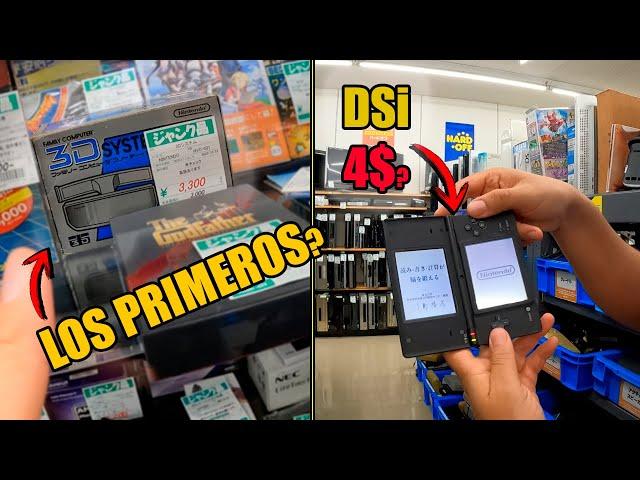 💪 Busqueda de lo retro EN JAPON   | Primeros LENTES 3D nintendo | Mando DREAMCAST | DSI MUY barata