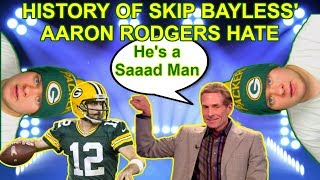 History of Skip Bayless' Hate For Aaron Rodgers - PART 1