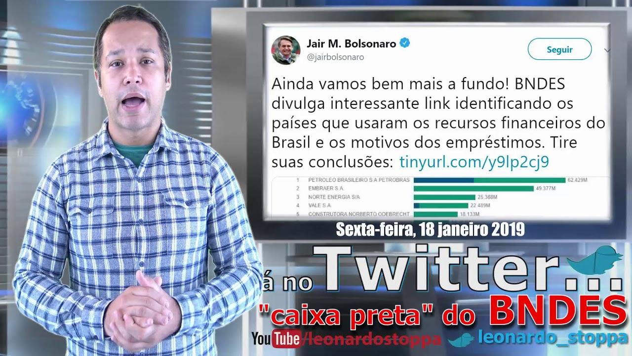 Bolsonaro e BNDES: