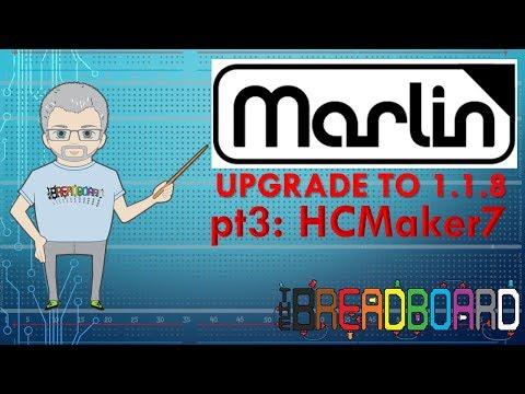 HCmaker7 / ADIMLab - 3D printer upgrade to Marlin 1 1 8 part 3 - YouTube