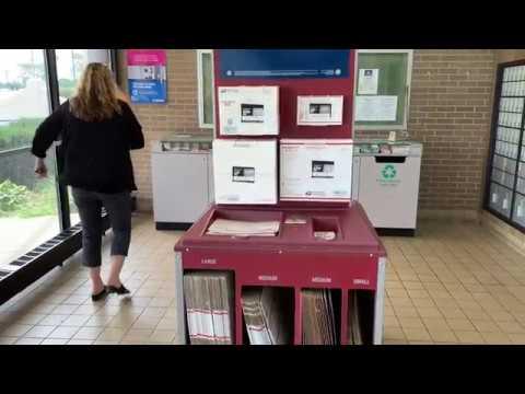 gửi hàng đi mỹ - đi gửi đồ ở bưu điện  Đời sống người Việt Ở Mỹ