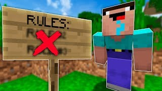 UNSPEAKABLE BREAKS MINECRAFT!