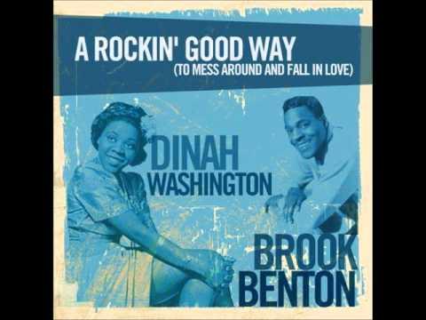Brook Benton & Dinah Washington -- A Rockin' Good Way