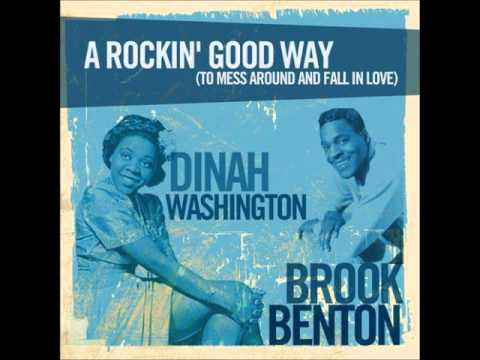 Brook Benton & Dinah Washington -- A Rockin' Good Way