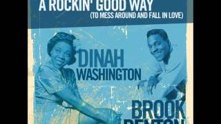 Watch Dinah Washington A Rockin Good Way video