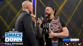 WWE SmackDown Full Episode, 22 January 2021