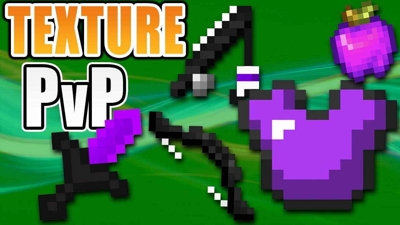 The Best Minecraft Texture Pack PvP 16x16 | Purple Default Edit, Short Sword, Low Fire, FPS ...