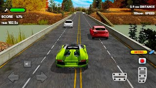 Race The Traffic Nitro Driving - Android Gameplay HD screenshot 4