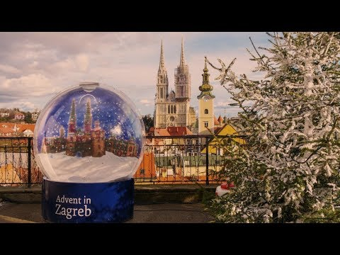 The Best Christmas Market in Europe Zagreb Croatia 2017.