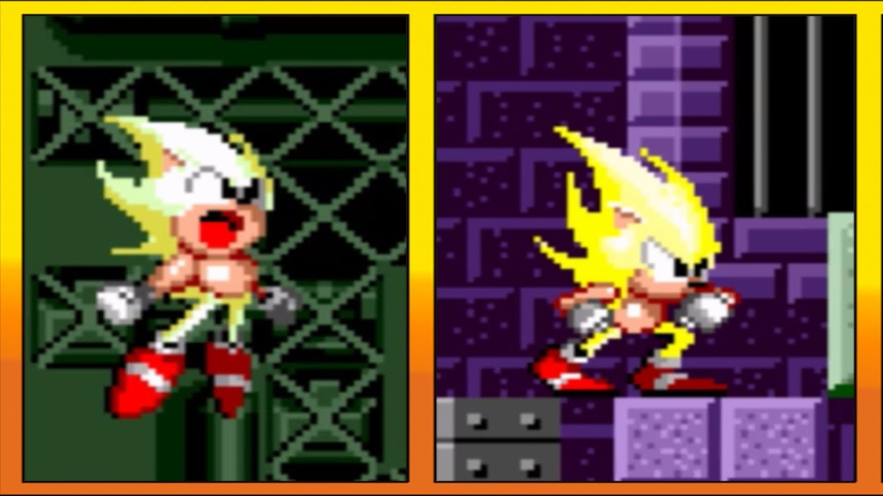 Super Sonic in Sonic 1