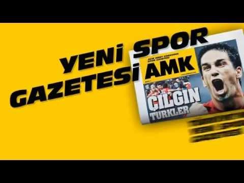 Yeni Spor Gazetesi Çıktı AMK - ALTGRQ.com Video