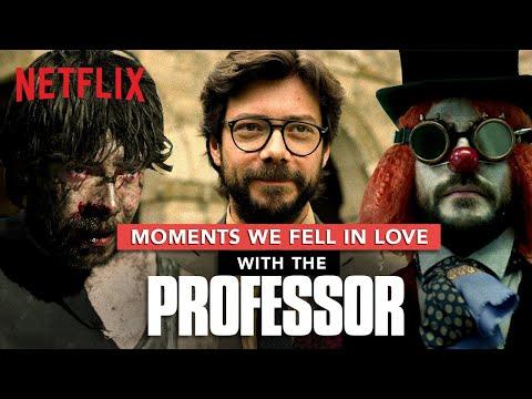 Money Heist Professor: Moments We Fell In Love With Him | La Casa De Papel | Netflix India