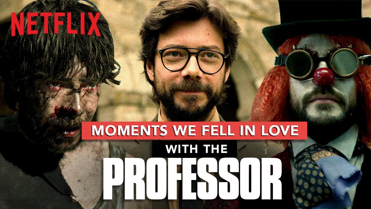 Money Heist Professor: Moments We Fell In Love With Him | La Casa De Papel | Netflix India