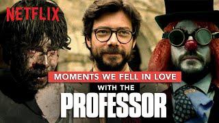 Money Heist Professor: Moments We Fell In Love With Him   La Casa De Papel   Netflix India