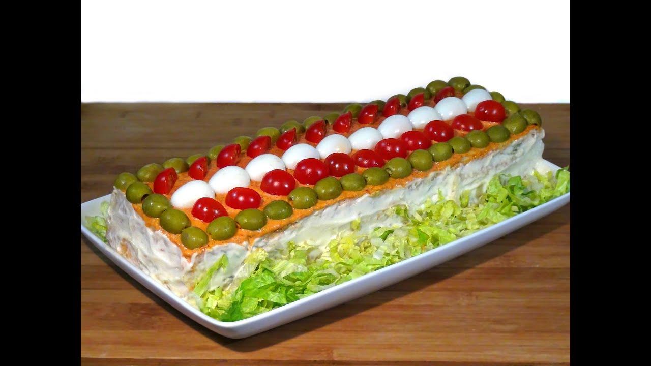 Receta Pastel Salado De Verano O Pastel Frio Sandwichón Recetas De Cocina Loli Domínguez