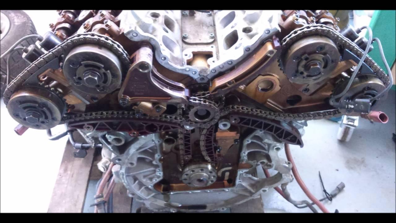 Audi A8 D2 6 0 W12 Wymiana Uszczelki Pod G Owic Remont
