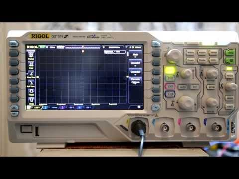 Rigol DS1074Z Serial Decoding