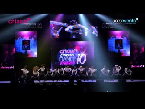 Crissa Dance Synergy 10 FINALS   UPLB   SJDC Fatale   College Division
