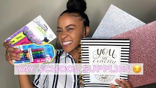 2019 BACK TO SCHOOL SUPPLIES HAUL