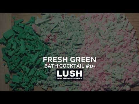 LUSH COSMETICS Bath Cocktail #20: Fresh Green Bath