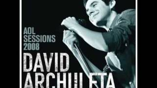 01. A Little Too Not Over You - David Archuleta (AOL Sessions)
