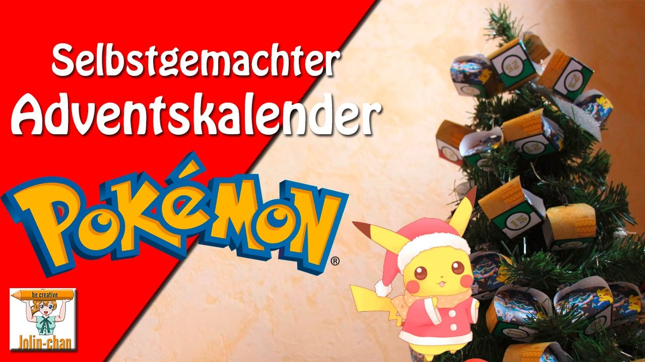 pokemon adventskalender selbstgemacht youtube. Black Bedroom Furniture Sets. Home Design Ideas