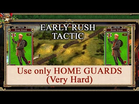Cossacks 2  Battle for Europe - Win With Only HOME GUARDS (Very Hard) |