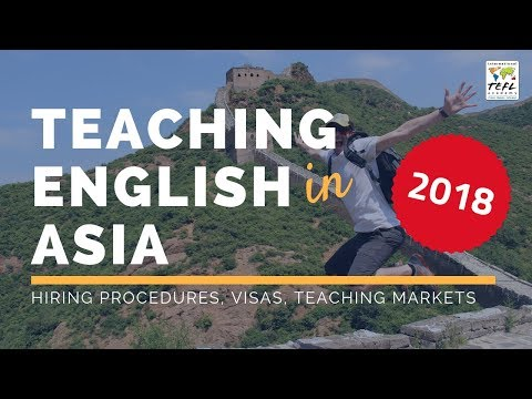 Teaching English in Asia - International TEFL Academy