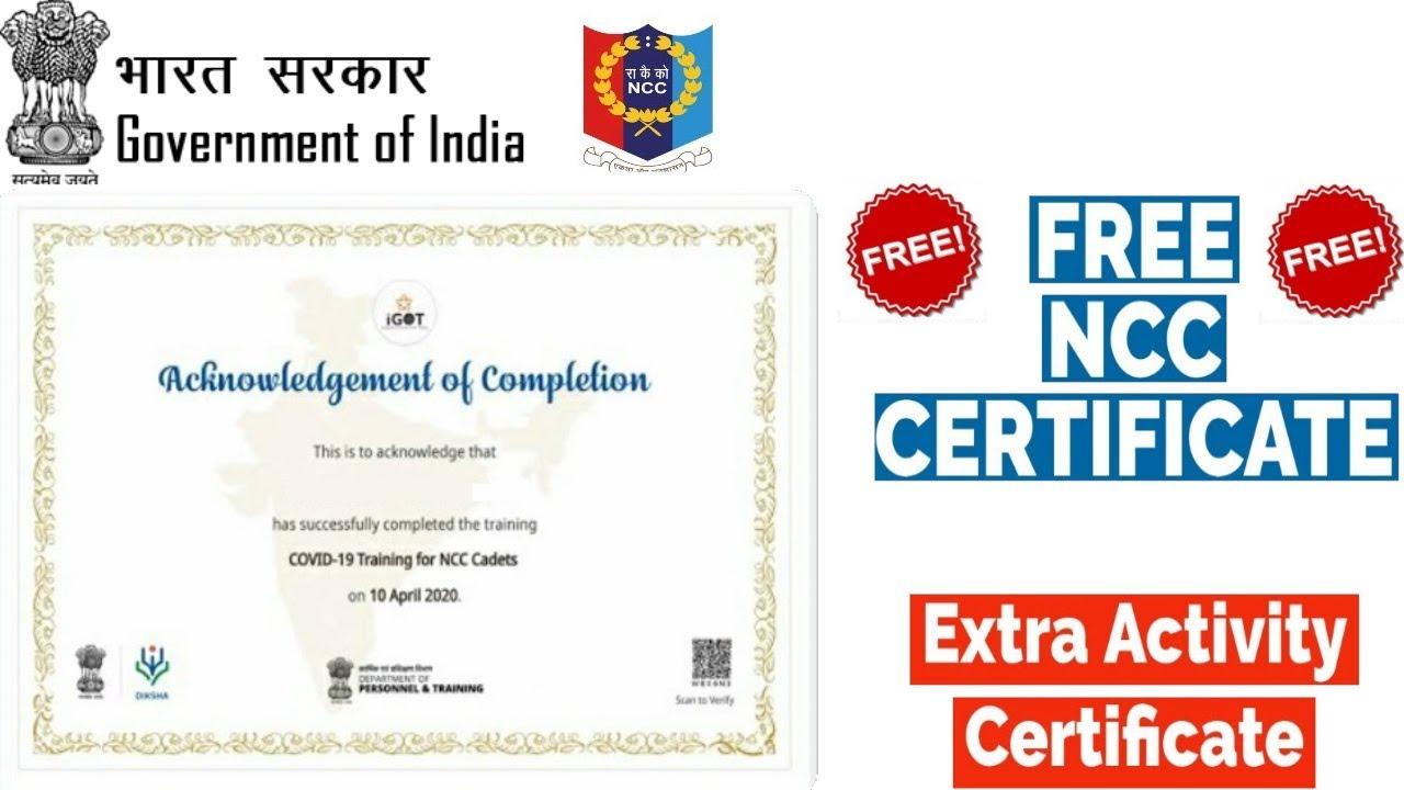 certificate ncc