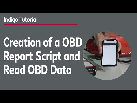 Creation of a Customized OBD Report Script in C# and read out OBD Data from a Vehicle