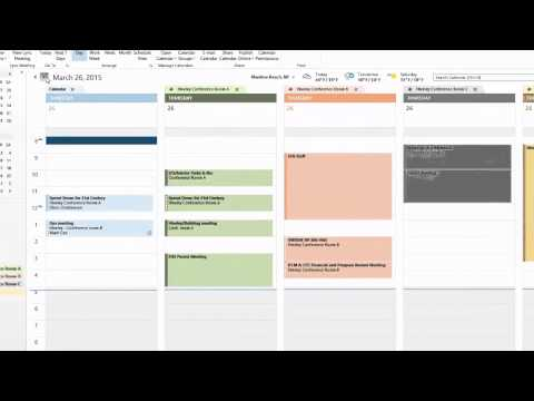 Scheduling Meeting Rooms in Microsoft Outlook