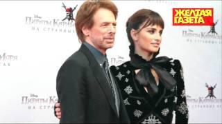 Пенелопа Крус и Джерри Брукхаймер на премьере 11.05.2011