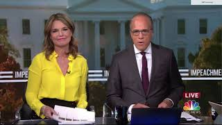 NBC News Impeachment Hearing Open Nov. 13, 2019