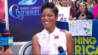 keke palmer to be first african american cinderella on broadway