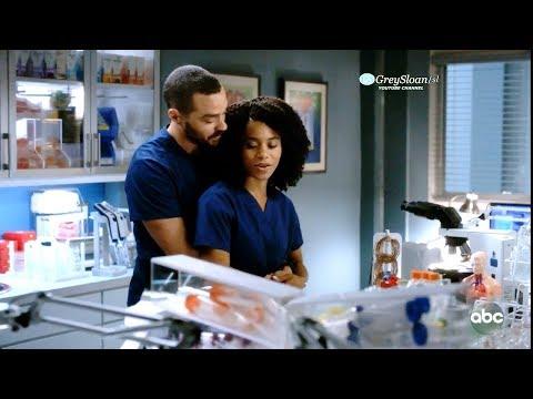 Grey's Anatomy 15x05 Jackson Goes Back & Apologizes to Maggie