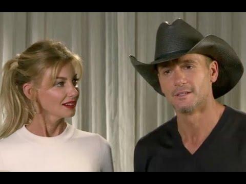 Faith Hill & Tim McGraw Talk Family (2016)