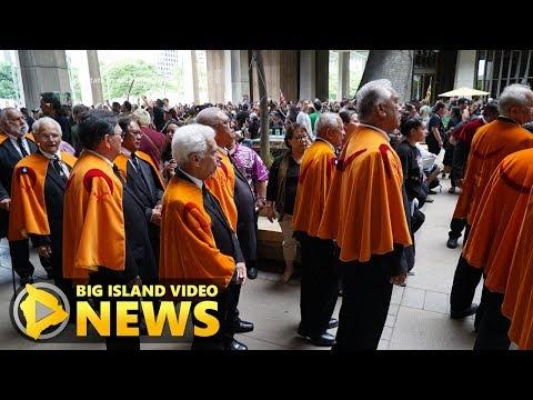 Hawaii Legislature Opens On 125th Anniversary Of Overthrow (Jan. 17, 2018)