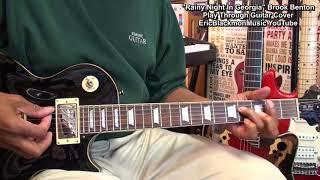 RAINY NIGHT IN GEORGIA Brook Benton Guitar Cover Vid#1 Lesson Link In Video Description