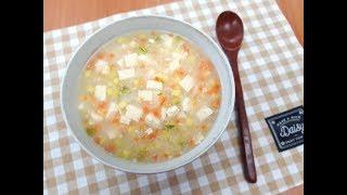 [두부로]두부야채죽