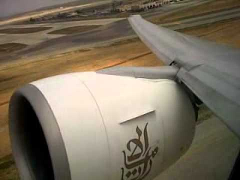 Takeoff - Boeing 777 - Turbulance out of Amman, JO