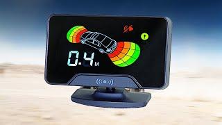 Автомобильный ПАРКТРОНИК обзор и тестирование. Парковочный радар 4 датчика.