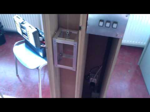 Home made diy outdoor elevator to the sea doovi for Diy elevator plans