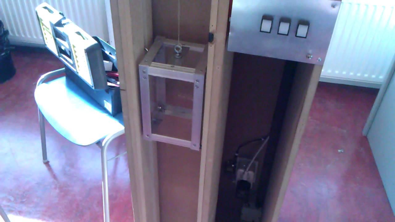 Homemade elevator, school plc project