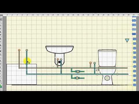 تركيب مواسير البولي بروبلين والارتفاع المناسب لشبكة المياة Ppr Pipes Installation In The Bathroom