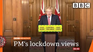 Boris Johnson 'does not want second national lockdown' - Covid-19: Top stories this morning - BBC