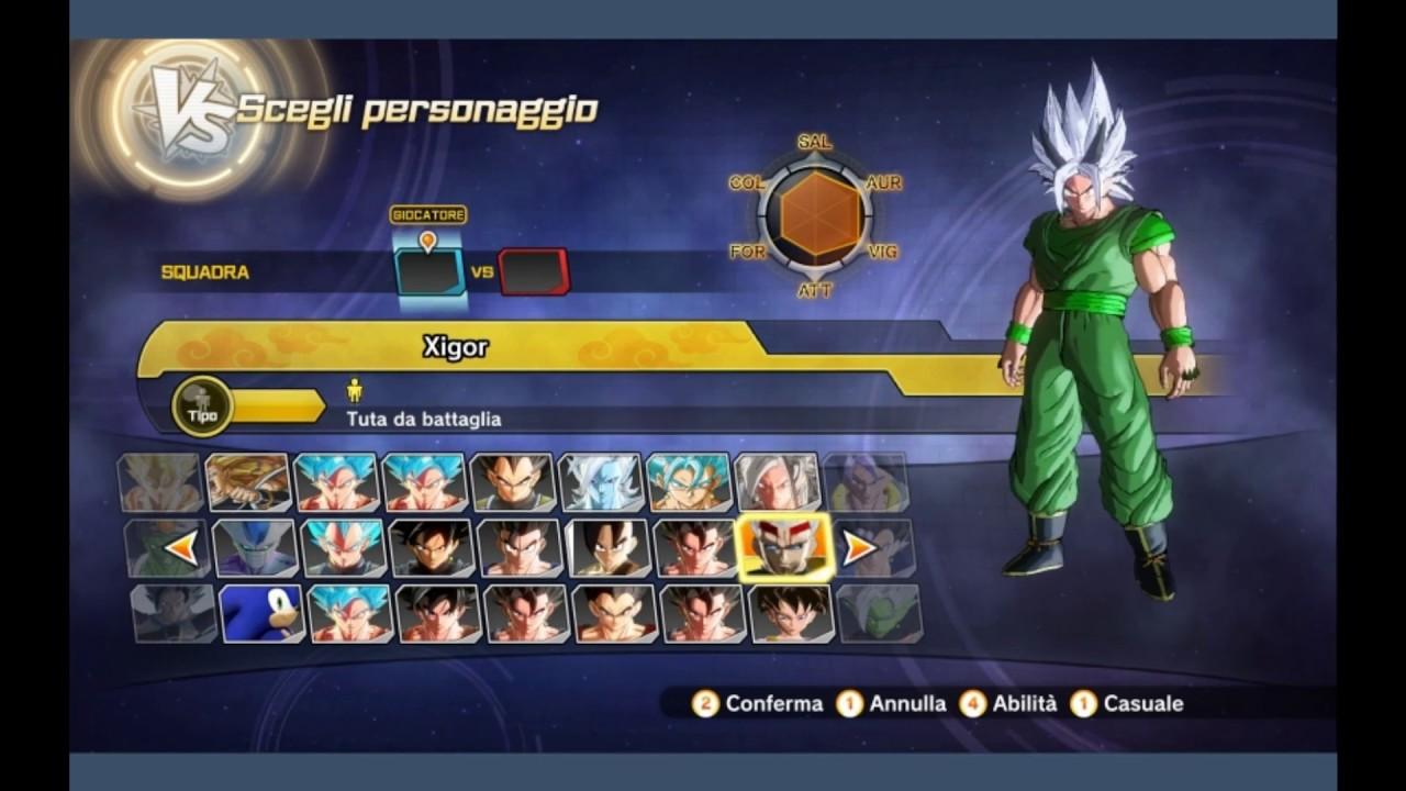 Character slots xenoverse