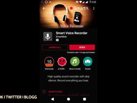 How to Record High quality Audio on Your android smartphone 2016