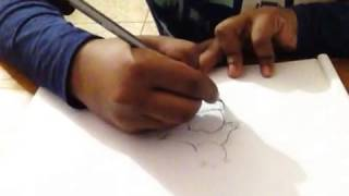 How to draw Kung fu panda by RREverything.