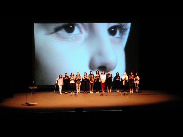 'El clamor de la infancia' del coro Azzohor del centro Cultural Al Idrissi