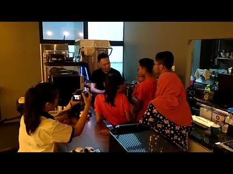 Crown Coffee Singapore - Coffee Journey with Naval Base Secondary School - 5 January 2018 - 1
